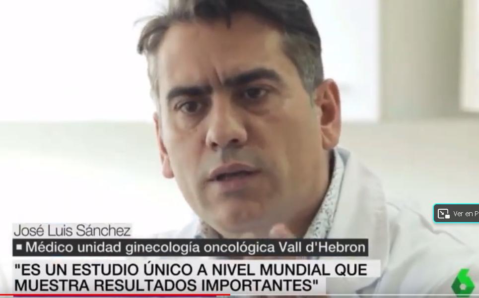 El Dr. Jose Luís Sánchez y el cáncer de ovarios